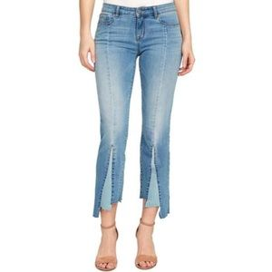 NWT William Rast Layered Cropped Jeans